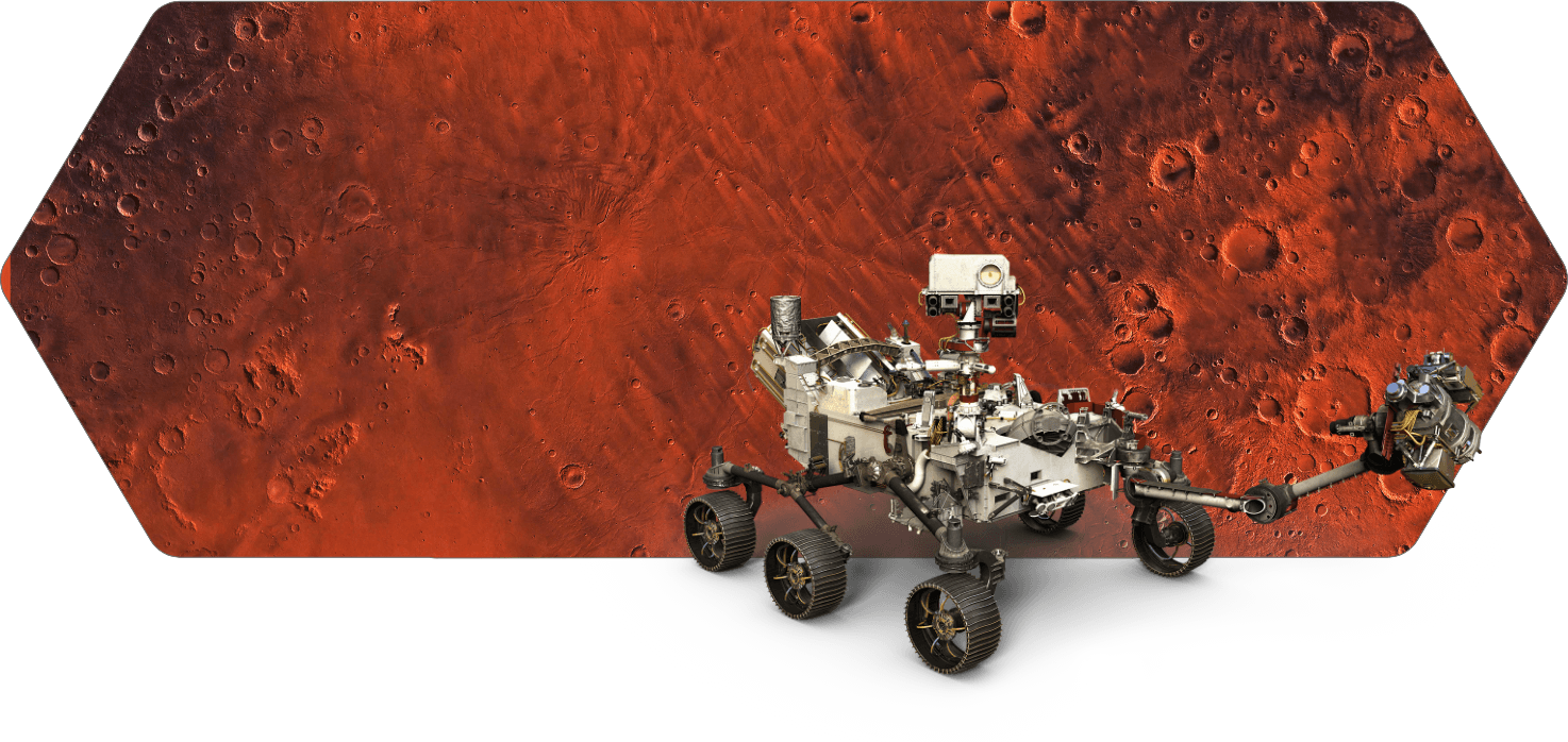 robotic projects - Mars 2020 Perseverance Rover